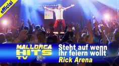"""""""Steht auf wenn ihr feiern wollt"""" - Rick Arena live auf der Mallorca Zeltparty in Ismaning. Party Hits wie """"Millionen Frauen lieben mich"""", """"Party Feeling"""", """"Steht auf wenn ihr feiern wollt"""", """"Ein Kompliment"""", Live Covers auf """"An Tagen wie diesen"""" und diverse Songs der Ärzte mit einer Action geladenen Live-Show, hat sich Rick Arena einen Namen gemacht. http://mallorcahitstv.de/2014/05/rick-arena-steht-auf-wenn-ihr-feiern-wollt/"""