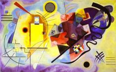 Yellow-Red-Blue -  Wassily Kandinsky 1925