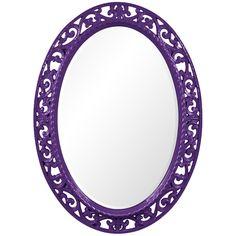 Howard Elliott Suzanne Royal Purple Mirror 2123RP