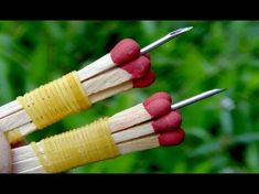 Wow!Awesome ideas With Drill Bits - YouTube