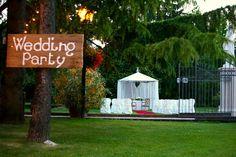 Wedding pool party