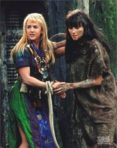 Xena Warrior Princess Beautiful Stunning Gorgeous Pretty Powerful God Of War Action Lucy Lawless Gabrielle XWP Greece Greek 2013 Love Perfect Tv show Series Season Programme Retro Olden Days program geek Women Woman Amazon Sword Sai Chakram Goddess Amazing Breathtaking  Smile Fight Girl Power CatFight Argo Ares Destroyer Babe Cute Sweet Fantastic Fascinating Loving Lovely Together Lovers SoulMates Soul Mates Destined Destiny Power Relationship BestFriends Best Friend