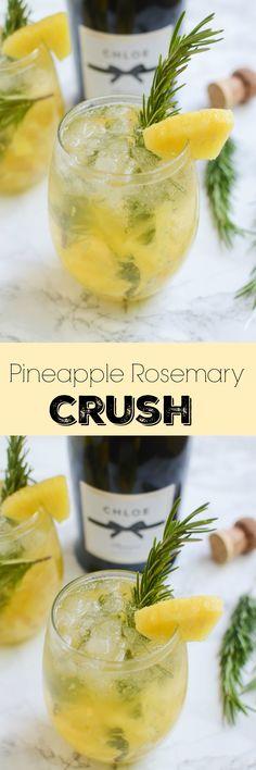 Pineapple Rosemary Crush