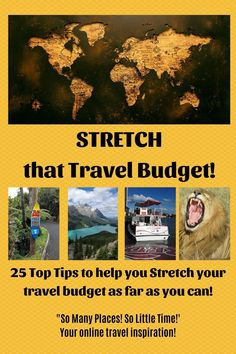 25 Top Tips to help you stretch that travel budget as far as it will go! #budgettraveltips #tipsbudgettravel 3besttravelbudgettips Travel Reviews, Travel Articles, Travel Deals, Travel Advice, Travel Guides, Travel Tips, Travelling Tips, Travel Info, Travel Hacks