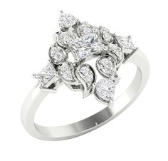 aa545b4cf99 Solitaire Anniversary Ring Band I1 G 1.15Ct Real Diamond Jewelry 14Kt Sold  Gold
