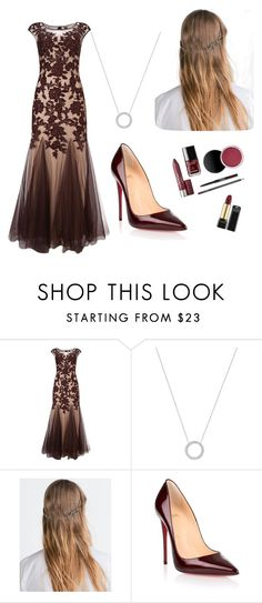"""Fall Formal. Idk..."" by madisonthorpe on Polyvore featuring Phase Eight, Michael Kors, Zara and Christian Louboutin"