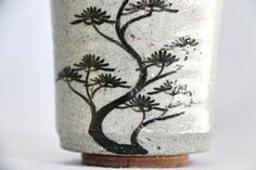Zenbu Home 'Matsu' Japanese artisan pine tree hand painted Jun Matsuo Saga cup Japan design art buy Aesthetic Sense, Japan Design, Metal Working, Design Art, Pine Tree, Artisan, Objects, Hand Painted, Vase