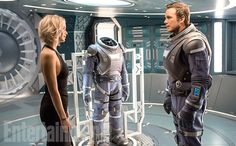 Passengers — in theaters Dec. 21 — pairs Jennifer Lawrence and Chris Pratt on a luxury intersteller spaceship bound for the Homestead II colony 120...