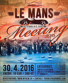 #HudyArena presnets you the veteran R/C car race: RC Le Mans Meeting Hudy Arena.