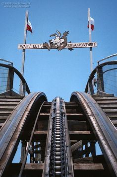 Rode the largest wooden roller coaster in the World, The Texas Giant.