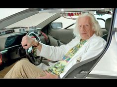 BACK TO THE FUTURE Blu-Ray Announcement - Doc Brown (2015) Christopher Lloyd HD - YouTube