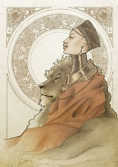 Leo - Pride, generous and could do anything for the person they love (Illustration Horoscope for Indonesia printer 2008)
