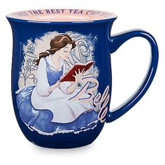 Disney Store Belle Story Mug Sometimes The Best Tea Cup Is Chipped New