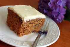 This old-fashioned carrot cake is made with cooked, pureed carrots for a sweeter, richer, and moister result.