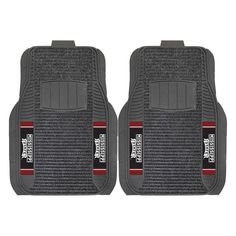 """Mississippi State Bulldogs Ncaa Deluxe 2-piece Vinyl Car Mats (20""""x27"""")"""