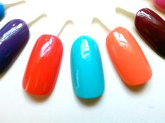 Get the Gel Polish Look WITHOUT A UV LAMP. Review, Swatches: Nails Inc. Gel Effect Polish #bstat