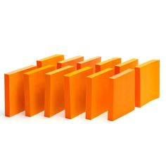 Orange Sticky Notes - Paper Products