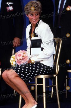 June 6, 1991: Princess Diana during her visit to Marlow Community Hospital.  Photo by Alpha-Globe Photos