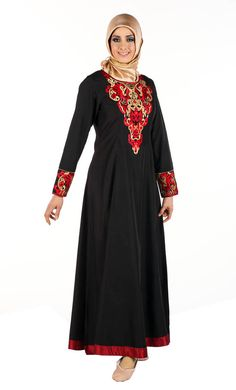 Princess Cut Dubai Abaya | Women | Eastessence.com