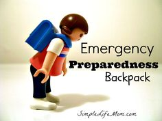 Emergency Preparedness Backpack and $100 Amazon Giveaway! What would you put in an emergency preparedness backpack. Here are ideas for those with kids.