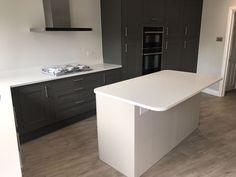 Aspen De Lusso- Ilford, Essex - Rock and Co Granite Ltd White Quartz, Cabinet Colors, Aspen, Granite, Home, House, Homes, Houses