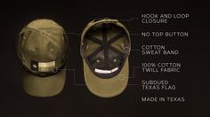 The Original Texas Tactical Hat, designed by military veterans and made in Texas. #madeintexas #texashats #tacticalhats