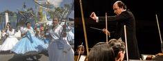 Bom pra Cabeça & Rádio Clube da Boa Música - PostsBandas de congo tocam com a Orquestra Sinfônica do ES