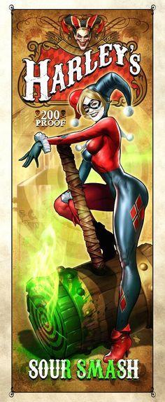 Harley Quinn - http://www.femalejokercostume.com