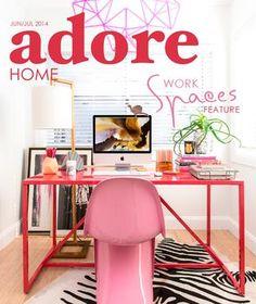 Inspiration :)! Adore Home Jun/Jul 2014