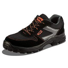 Today& Offer - Lightweight Men& Safety Sport Shoes in Composite Material and Kevlar Midsole Work Shoes Ankle Hiker 1997 Black Hammer EU / 7 UK, Black) at Eur instead of Eur. Shoes Boots Ankle, Steel Toe, Cool Boots, Leather Men, Black Shoes, Trainers, Shoe Bag, Safety, Sneakers