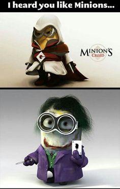 I heard you like minions