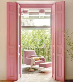 Tendencias de decoración en color rosa