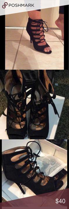 Selling this Nine West heels style name : lacely on Poshmark! My username is: darla323. #shopmycloset #poshmark #fashion #shopping #style #forsale #Nine West #Shoes
