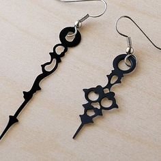 Handmade Gifts | Independent Design | Vintage Goods Victorian Clock Piece Earrings - Geek Chic