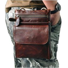 Fine Jewelry Hot Sale Mens Waist Bag Genuine Leather Leg Bag Leather Money Waist Packs Fanny Pack Belt Bags Phone Pouch Bags Travel Do You Want To Buy Some Chinese Native Produce?