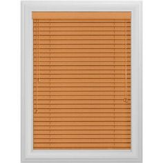 Bali Essentials 2 inch Wood Blind, Corded, Wheatfields, Brown