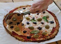 פיצה כרובית טבעונית