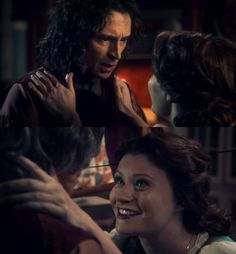 "The Dark One changing back into the original Rumplestiltskin after Belle's kiss in 1.12 ""Skin Deep"""