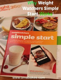 Why Weight Watchers Simple Start Works - great info! #weightwatchers #startsimple www.ornabakes.com