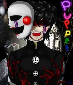 Image result for puppet fnaf anime