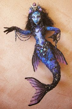 Witch Crafts - Dark Mermaid Doll