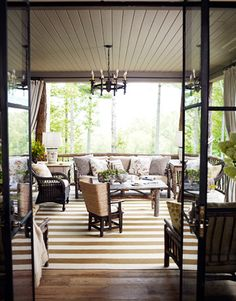 let the outside in, very nice!