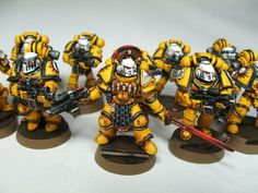 pre heresy imperial fists - Google Search
