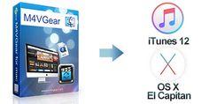 M4VGear pour Mac,20 X plus rapide pour supprimer les DRM d'iTunes vidéos sans perte.