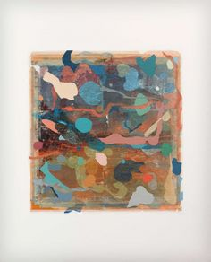 Adrienne Millwood, Beachcomber, 2012/13, Oil on Photo-releases on Canvas 1000 x 805 mm