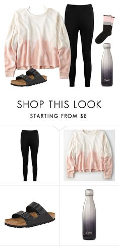 """Went shopping for my sister's homecoming dance"" by lorla3407 on Polyvore featuring Boohoo, ASOS, American Eagle Outfitters, Victoria's Secret, Birkenstock and S'well"
