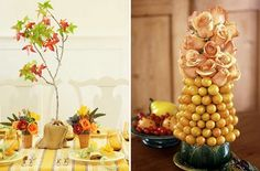 Thanksgiving Table Decorations to Make the Thanksgiving Day Feel Merrier: Amusing Thanksgiving Table…