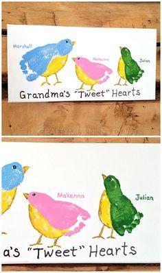 "Grandma's ""Tweet"" Hearts"