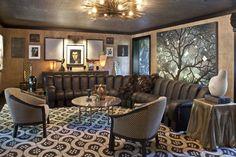 KELLY WEARSTLER | INTERIORS. Evergreen Residence, Salon