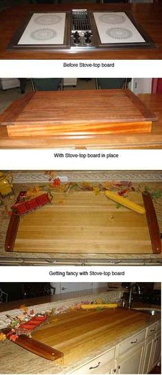 19 Best Diy Stove Top Cover Images Carpentry Stove Top Cover